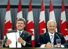 توافق جک لیتون (رهبر نیودموکراتها) و نخستوزیر استفن هارپر، درباره ایجاد اشتغال در بودجه