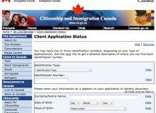 اشتباه در سایت اداره مهاجرت هنگام چک وضعیت پرونده