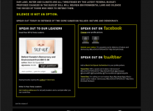 سیاهشدن وبسایتها به نشانه اعتراض به محافظهکاران