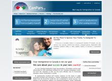آغاز بکار سایت Canpars.ca