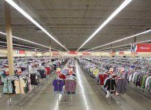 تهیه وسایل مورد نیاز به صورت دست دوم: thrift store (بنجلفروشی)