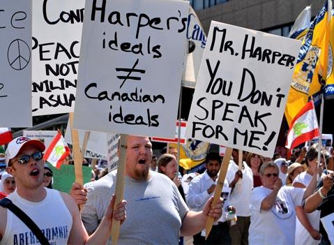 کانادا در هفته گذشته…
