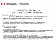 نامه های درخواست عکس برای صدور کارت پی آر