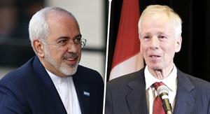 اولین دیدار وزرای خارجه ایران و کانادا