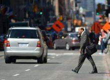 مقابله با عادت بد گذر غیرقانونی از خیابان