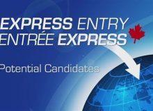 دور جدید انتخاب های اکسپرس انتری با حداقل امتیاز ۴۲۳