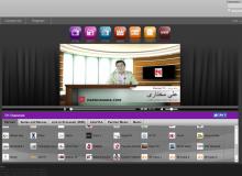 پخش زنده برنامه های تلویزیون اینترنتی پرنیان در شبکه GLWIZ