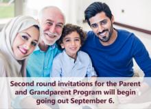 6 سپتامبر، دور دوم قرعه کشی اسپانسر کردن پدر و مادر در سال ۲۰۱۷